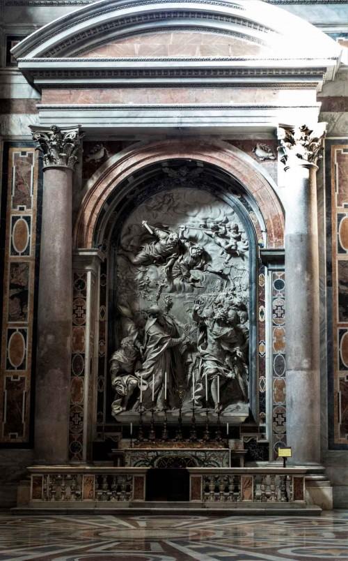 Alessandro Algardi, relief upamiętniający papieża Leona I, bazylika San Pietro in Vaticano
