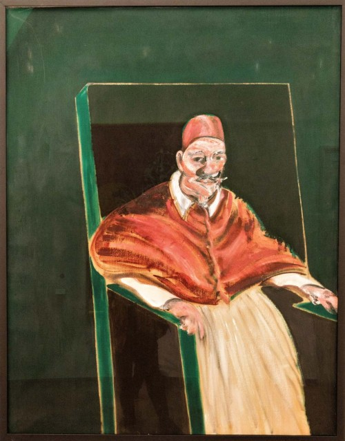 Innocenty X Francis Bacon, XX w., Pinacoteca Vaticana