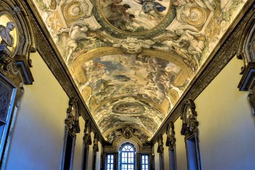 Palazzo Pamphilj, Galleria Serliana, dekoracje stropu, Pietro da Cortona