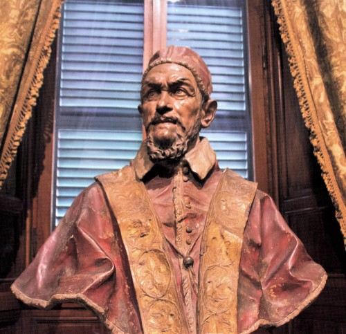 Popiersie Innocentego X, Domenico Guidi, Palazzo Doria Pamphlij