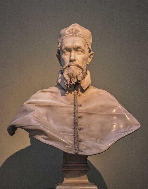 Popiersie papieża Innocentego X, Gian Lorenzo Bernini, Galleria Doria Pamphilj