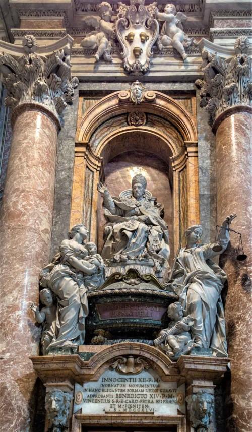 Nagrobek papieża Innocentego XII, bazylika San Pietro in Vaticano
