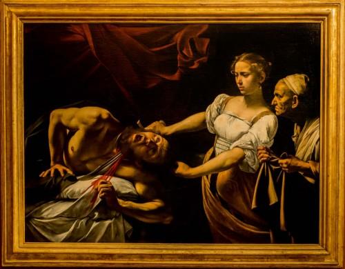 Judyta i Holofernes, Caravaggio, Galleria Nazionale d'Arte Antica, Palazzo Barberini