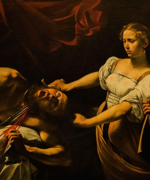Judyta i Holofernes, Caravaggio, ok. 1600, Galleria Nazionale d'Arte Antica, Palazzo Barberini