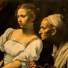 Judyta i Holofernes, Caravaggio, fragment, Galleria Nazionale d'Arte Antica, Palazzo Barberini