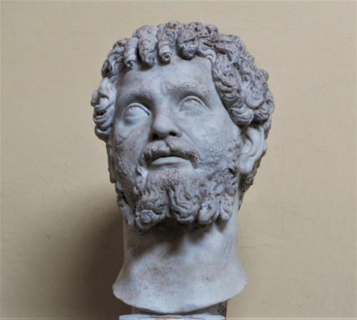 Portret cesarza Septymiusza Sewera, Musei Vaticani