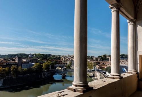 Loggia widokowa Juliusza II w zamku św. Anioła