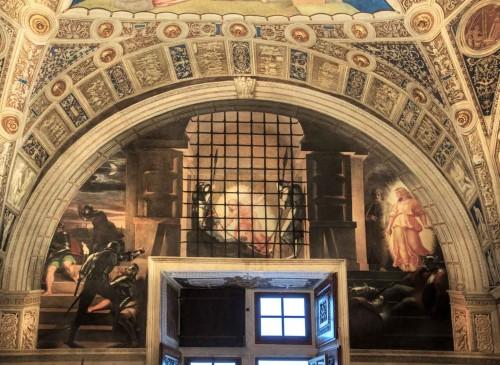 Rafael, Uwolnienie św. Piotra z więzienia, apartamenty Juliusza II
