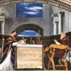 Portret klęczącego papieża Juliusza II, apartamenty papieskie (Stanze Rafaela), Musei Vaticani