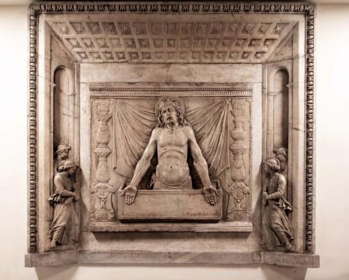 Vir Dolorum – slab decorating the tombstone of Pope Callixtus III in the Vatican Grottoes