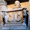 Funerary monument of Pope Callixtus III and Alexander VI from the Borgia family, Church of Santa Maria in  Monserrato