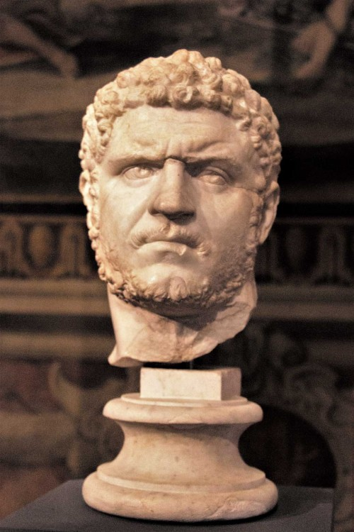 Popiersie cesarza Karakalli, Musei Capitolini