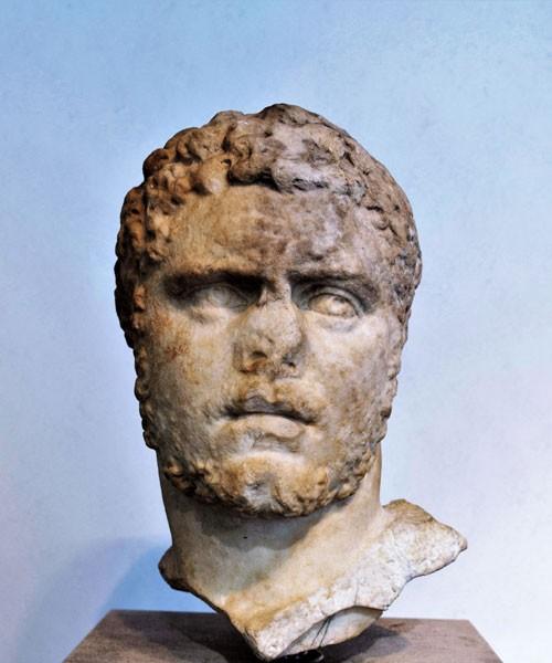 Portret cesarza Karakalli, Museo Nazionale Romano - Palazzo Massimo alle Terme