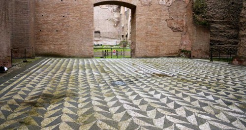 Remains of the Baths of Caracalla