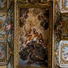 The Glory of St. Andrew in the sacristy of the Church of Sant'Andrea al Quirinale