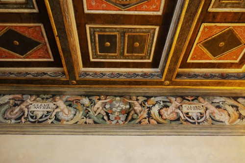 Frieze in room of Clement VII in Castle Sant'Angelo