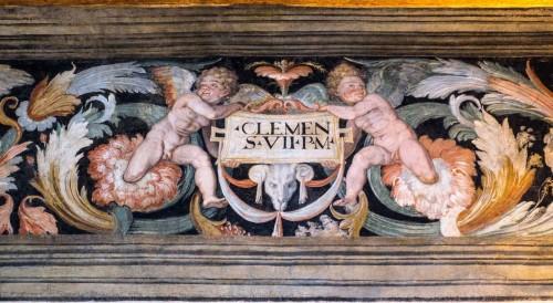 Fryz z sali Klemensa VII w zamku Sant'Angelo