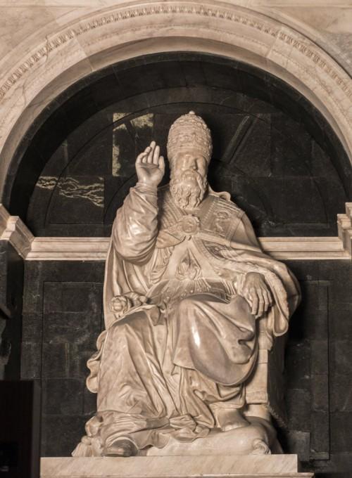 Klemens VII - nagrobek papieża w absydzie bazyliki Santa Maria sopra Minerva
