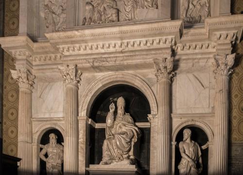 Nagrobek papieża Klemensa VII w chórze bazyliki Santa Maria sopra Minerva
