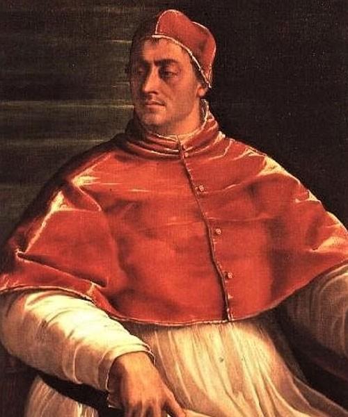 Portret papieża Klemensa VII, Sebastiano del Piombo, 1526, zdj. Wikipedia