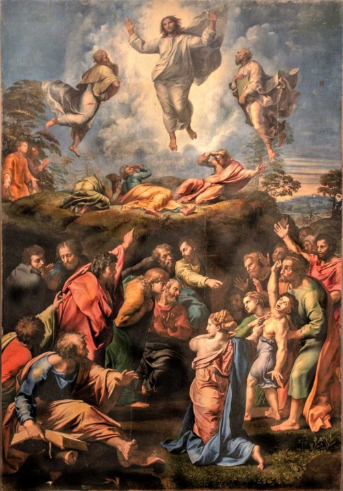 Przemienienie Pańskie, Rafael (Raffaello Sanzio), Musei Vaticani, Pinacoteca Vaticana