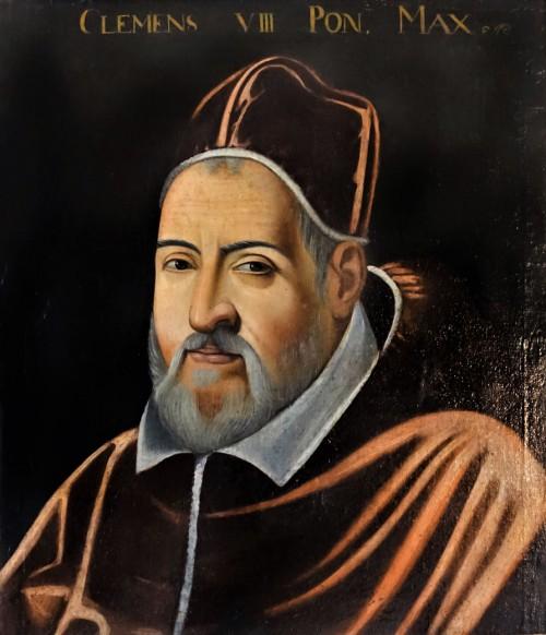 Portrait of Pope Clement VIII, Cristofano dell'Altissimo, approx. 1600, Palazzo Colonna