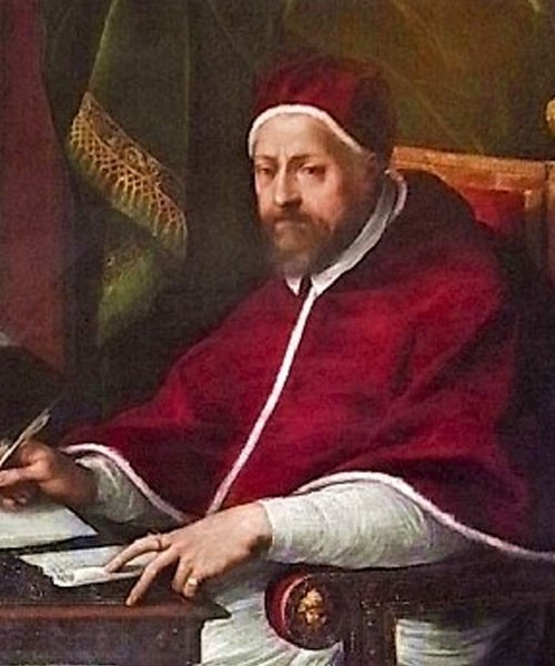 Portrait of Pope Clement VIII, pic. Wikipedia