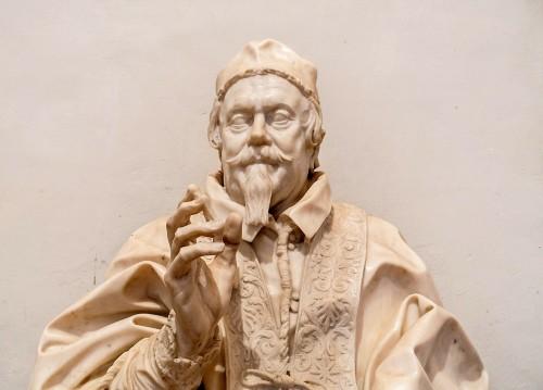 Gian Lorenzo Bernini, popiersie papieża Klemensa X, Galleria Nazionale d'Arte Antica, Palazzo Barberini