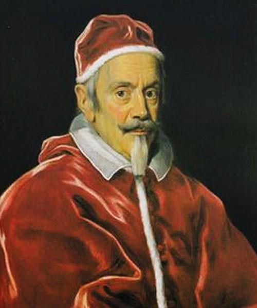 Portrait of Pope Clement X, Galleria Uffizi, pic. Wikipedia