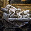 Gian Lorenzo Bernini, statue of the Blessed Ludovica Albertoni, Church of San Francesco a Ripa