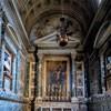 Kaplica Altieri, popiersia brata i ojca papieża Klemensa X, bazylika Santa Maria sopra Minerva