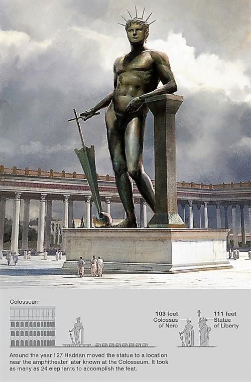 Figura Nerona (boga Sol), zdj. Wikipedia, autor Jaime Jones