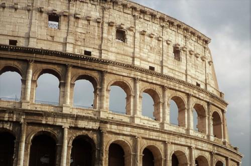 Koloseum, fasada