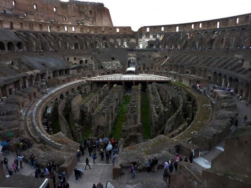 Koloseum, korytarze pod areną