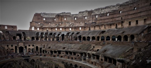 Colosseum, remains of the stands