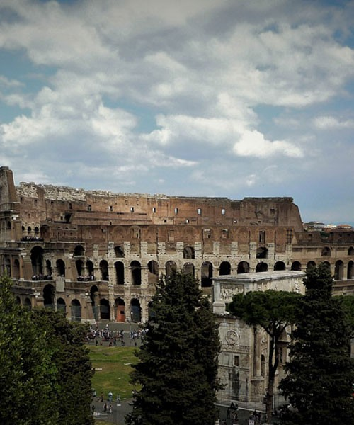 Colosseum, view from  Palatine Hill