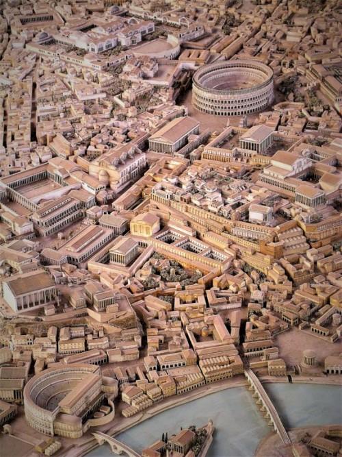 Makieta starożytnego Rzymu, Museo della Civiltà Romana - E.U.R., zdj. Wikipedia, autor Seier+Seier+Seier