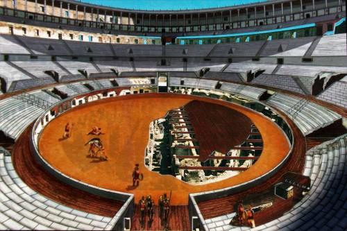 Współczesna rekonstrukcja Koloseum