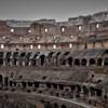 Koloseum, pozostałości trybun