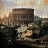 View of the Colosseum, Hendrik Frans van Lint, 1st half of the XVIII century, Palazzo Colonna