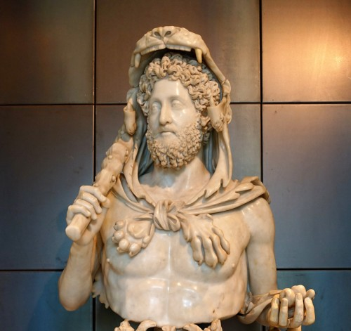 Emperor Commodus as Hercules, Musei Capitolini