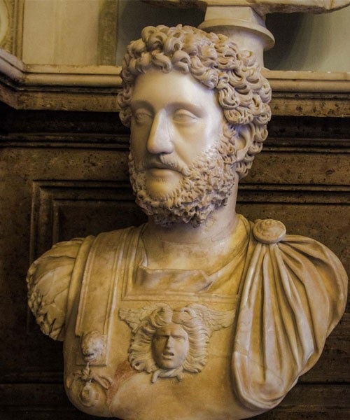 Bust of Emperor Commodus, Musei Capitolini