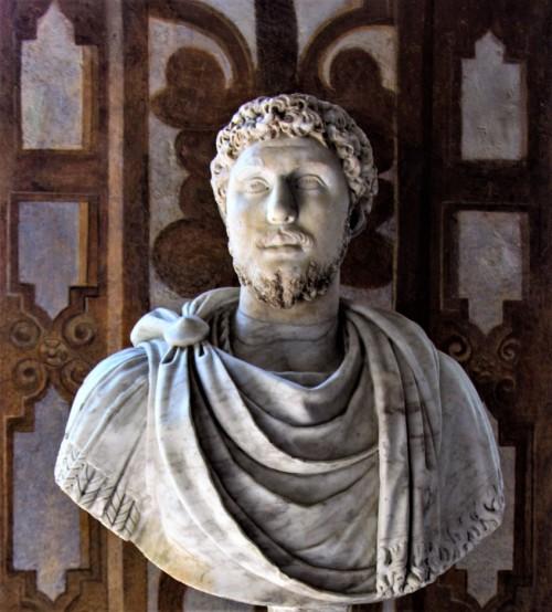 Popiersie cesarza Kommodusa, Museo Nazionale Romano, Palazzo Altemps