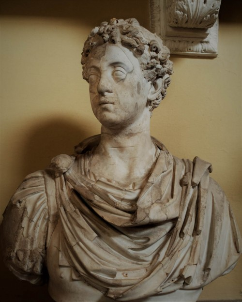Bust of young Emperor Commodus, Musei Vaticani