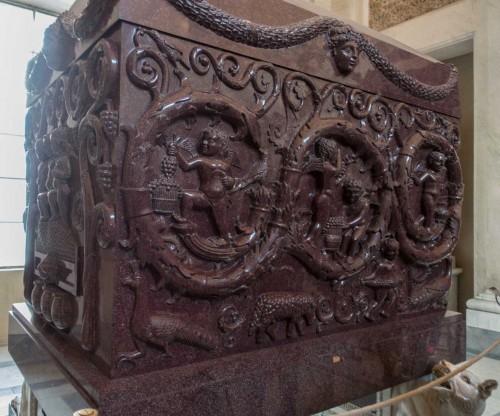 Sarkofag Konstantyny, córki cesarza Konstantyna Wielkiego, Musei Vaticani