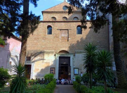 Basilica of Sant'Agnese fuori le mura, façade