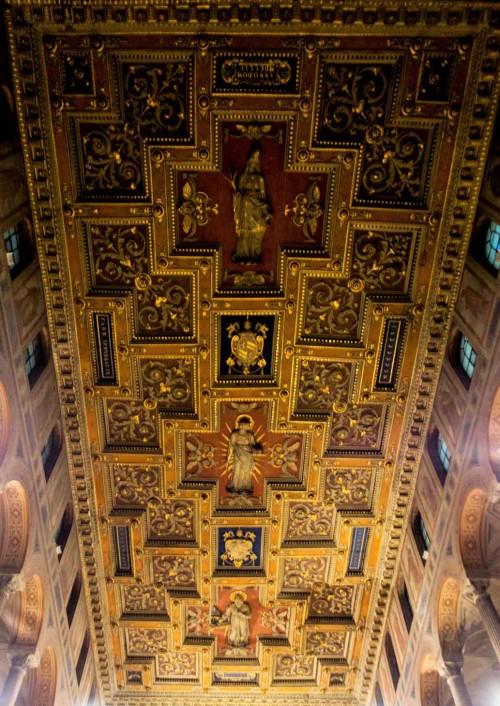 Basilica of Sant'Agnese fuori le mura, ceiling