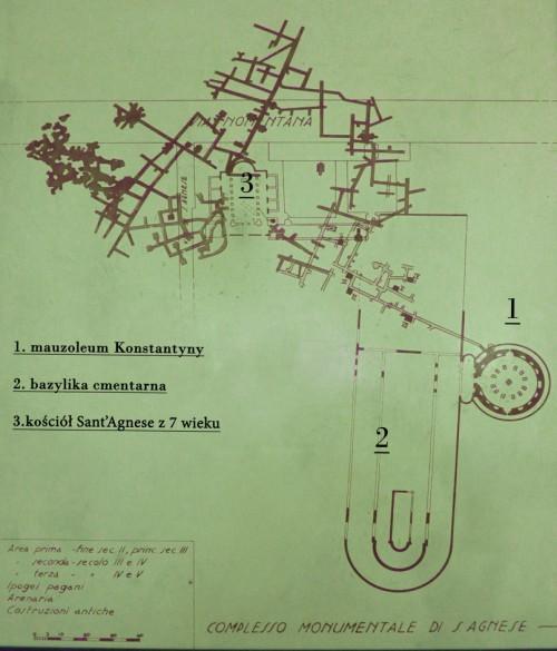 Starożytne Caementarium Agnesis przy via Nomentana
