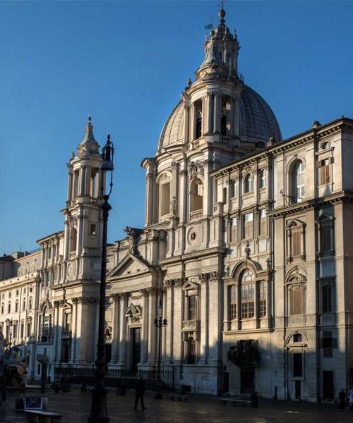 Sant'Agnese in Agone na Piazza Navona