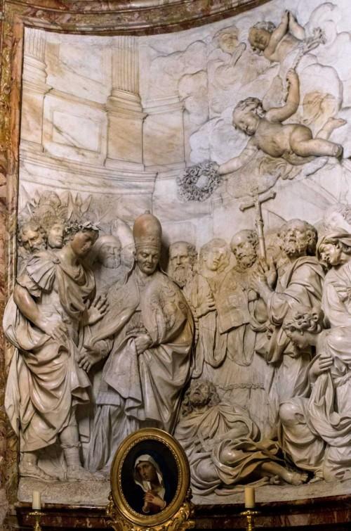 Sant'Agnese in Agone, ołtarz boczny, św. Aleksy, Gian Francesco de' Rossi